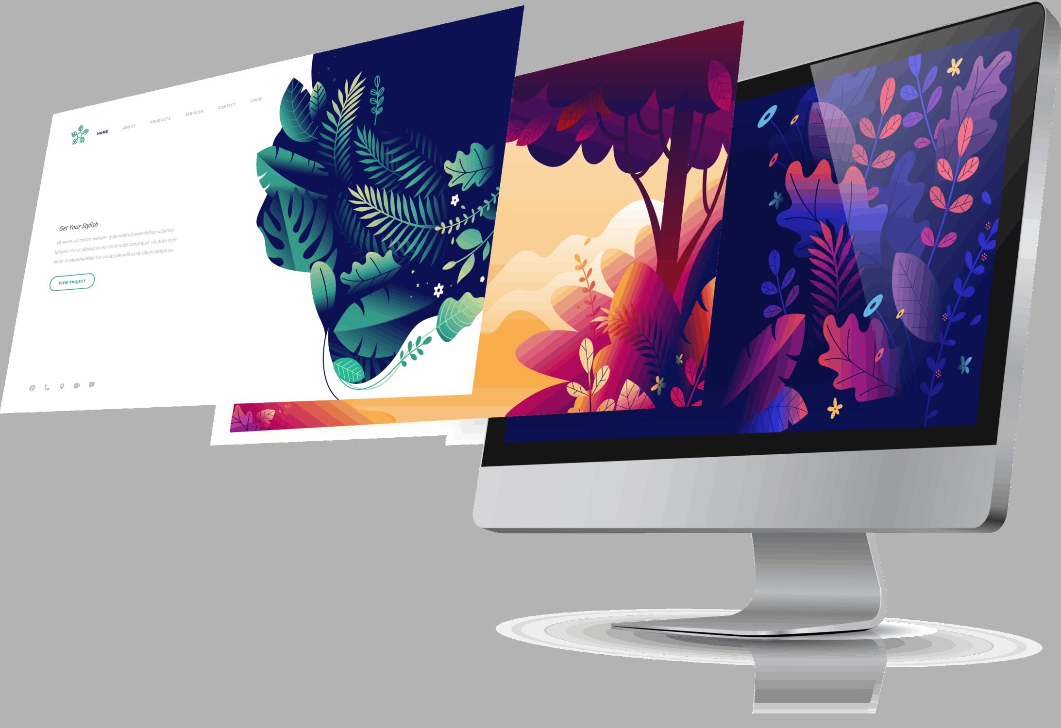 Arca designer- Création site internet
